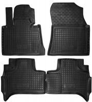 Коврики в салон для BMW X5 E53 '00-07 резиновые, черные (AVTO-Gumm)