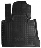 Коврик в салон водительский для BMW X5 E53 '00-07 резиновый, черный (AVTO-Gumm)