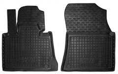 Коврики в салон передние для BMW X5 E53 '00-07 резиновые, черные (AVTO-Gumm)