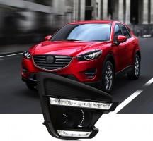 Дневные ходовые огни для Mazda CX-5 '15-17 (LED-DRL)