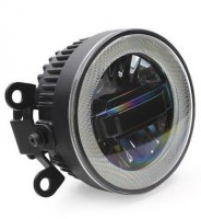 Противотуманные фары для Nissan Tiida '05-14 (LED-DRL) светодиодные с DRL