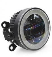 Противотуманные фары для Renault Sandero '13- (LED-DRL) светодиодные с DRL