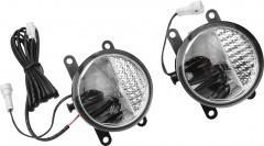 Противотуманные фары для Renault Logan '04-12 (Osram) светодиодные
