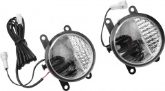 Противотуманные фары для Renault Fluence '09- (Osram) светодиодные