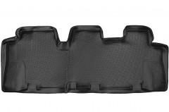 Коврики в салон для Hyundai Santa Fe '06-10 CM полиуретановые (L.Locker) 3 ряд