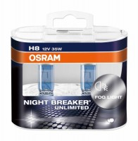 Автомобильные лампочки Osram Night Breaker Unlimited H8 35W 12V (Комплект: 2шт.)
