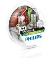 Автомобильные лампочки Philips LongLife EcoVision H4 60/55W 12V (Комплект: 2шт.)
