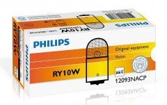 Автомобильная лампочка Philips Standard Vision RY10W 10W 12V