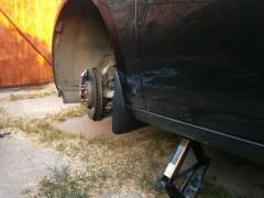 Брызговики передние для Opel Astra J '09-15 (Nor-Plast)