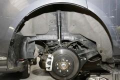 Фото 2 - Подкрылок задний левый для Mitsubishi Lancer X (10) Sportback '07- (Novline)