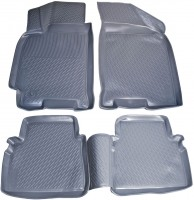 Коврики в салон для Chevrolet Lacetti '03-12 полиуретановые, серые (L.Locker)