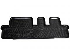 Коврики в салон для Chevrolet Orlando '11- полиуретановые, черные (L.Locker) 3 ряд сидений