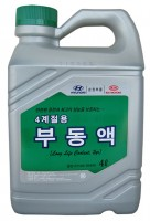 Hyundai/Kia (Mobis) Антифриз-концентрат Hyundai/Kia (Mobis) Long Life Coolant (07100-00400) 4 л.