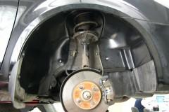 Подкрылок передний левый для Geely MK Sedan '06-14 (Novline)