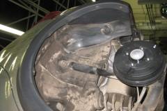Фото 8 - Подкрылок задний левый для Renault Sandero Stepway '10-12 (Novline)