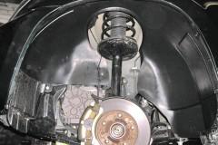 Подкрылок задний левый для Chery Tiggo '05-12 (Novline)