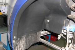 Фото 4 - Подкрылок передний левый для Chevrolet Aveo (T250) '04-06, седан, (Novline)