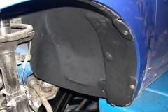 Фото 5 - Подкрылок передний левый для Chevrolet Aveo (T250) '04-06, седан, (Novline)