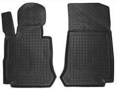Коврики в салон передние для Mercedes GLC-Class X253 '15- резиновые, черные (AVTO-Gumm)