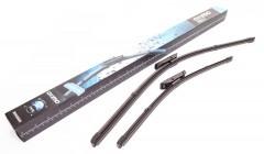 Щетки стеклоочистителя бескаркасные Oximo 600 и 450 мм. (к-кт) WD400550
