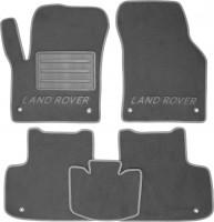 Коврики в салон для Land Rover Discovery Sport '14- текстильные, серые (Премиум)