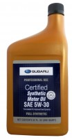 Subaru Synthetic Motor Oil 5W-30 (SOA427V1410) 0,946 л.