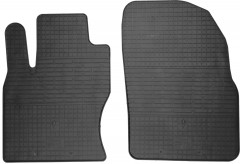 Коврики в салон передние для Ford Focus II '04-11 резиновые (Stingray)