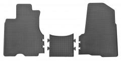 Коврики в салон передние для Honda CR-V '02-06 резиновые (Stingray)