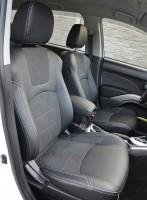 Авточехлы Leather Style для салона Mitsubishi Outlander XL '07-12 (MW Brothers)