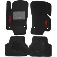 Коврики в салон для Skoda Octavia A7 '13- текстильные, черные (Стандарт)