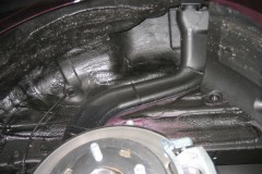 Фото 10 - Подкрылок задний левый для Hyundai Accent (Solaris) '11-, седан (Novline)