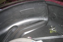 Фото 12 - Подкрылок задний левый для Hyundai Accent (Solaris) '11-, седан (Novline)