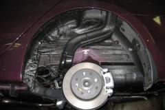 Фото 15 - Подкрылок задний левый для Hyundai Accent (Solaris) '11-, седан (Novline)