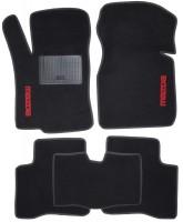 Коврики в салон для Mazda 323 '98-03 текстильные, черные (Стандарт)
