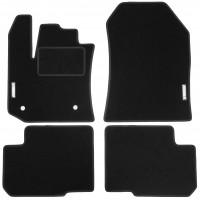 Коврики в салон для Renault Lodgy '12- текстильные, черные (Стандарт)