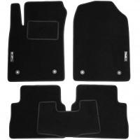 Коврики в салон для BYD S7 '14- текстильные, черные (Стандарт)
