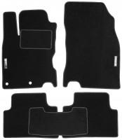 Коврики в салон для Nissan Qashqai '14- текстильные, черные (Стандарт)