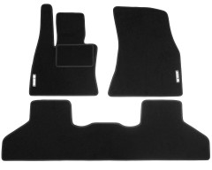 Коврики в салон для BMW X5 F15 '14- текстильные, черные (Стандарт)