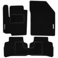 Коврики в салон для Suzuki Vitara '15- текстильные, черные (Стандарт)