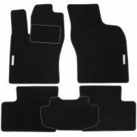 Коврики в салон для Opel Kadett E '85-91 текстильные, черные (Стандарт)
