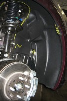 Фото 15 - Подкрылок передний правый для Hyundai Accent (Solaris) '11-, седан (Novline)