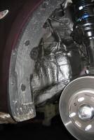 Фото 19 - Подкрылок передний правый для Hyundai Accent (Solaris) '11-, седан (Novline)
