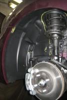 Фото 20 - Подкрылок передний правый для Hyundai Accent (Solaris) '11-, седан (Novline)
