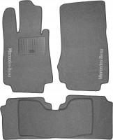 Коврики в салон для Mercedes S-class W220 '98-05 текстильные, серые (Стандарт)