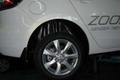 Подкрылок задний правый для Mazda 3 '04-09, кроме хетчбек Sport (Novline)