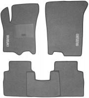 Коврики в салон для Suzuki SX4 '13- текстильные, серые (Стандарт)