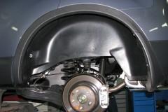 Подкрылок задний левый для Nissan Qashqai+2 '08-14 (Novline)