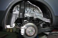 Подкрылок задний правый для Nissan Qashqai+2 '08-14 (Novline)