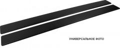 NataNiko Накладки на пороги для Hyundai H-1 '07- (Premium+k)
