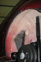 Фото 3 - Подкрылок задний левый для Renault Logan '04-12 (Novline)